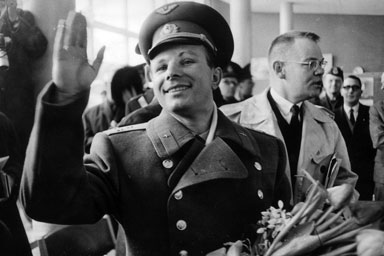 Yuri Gagarin in Zweden (1964)